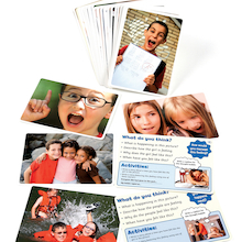 Feelings and Emotions Photo Activity Cards 50pk  medium