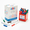 300pk Black TTS Whiteboard Pens + 36 Assorted FREE  small