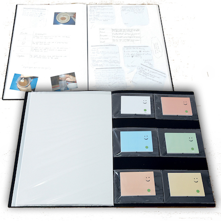 Collecting Evidence Book And 6 A5 Recordable Cards  large