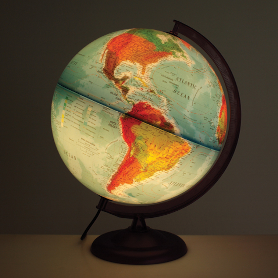Buy Light Up Physical Political Globe Tts