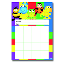 A5 Progress Wall Chart 20pk  medium