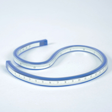 Plastic Flexible Curve Ruler 50cm  medium