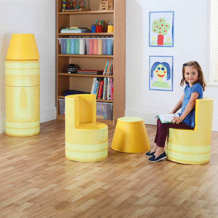 Crayon Seating with Magnetic Link  large