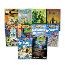 UKS2 Graphic Novel Books 10pk  medium