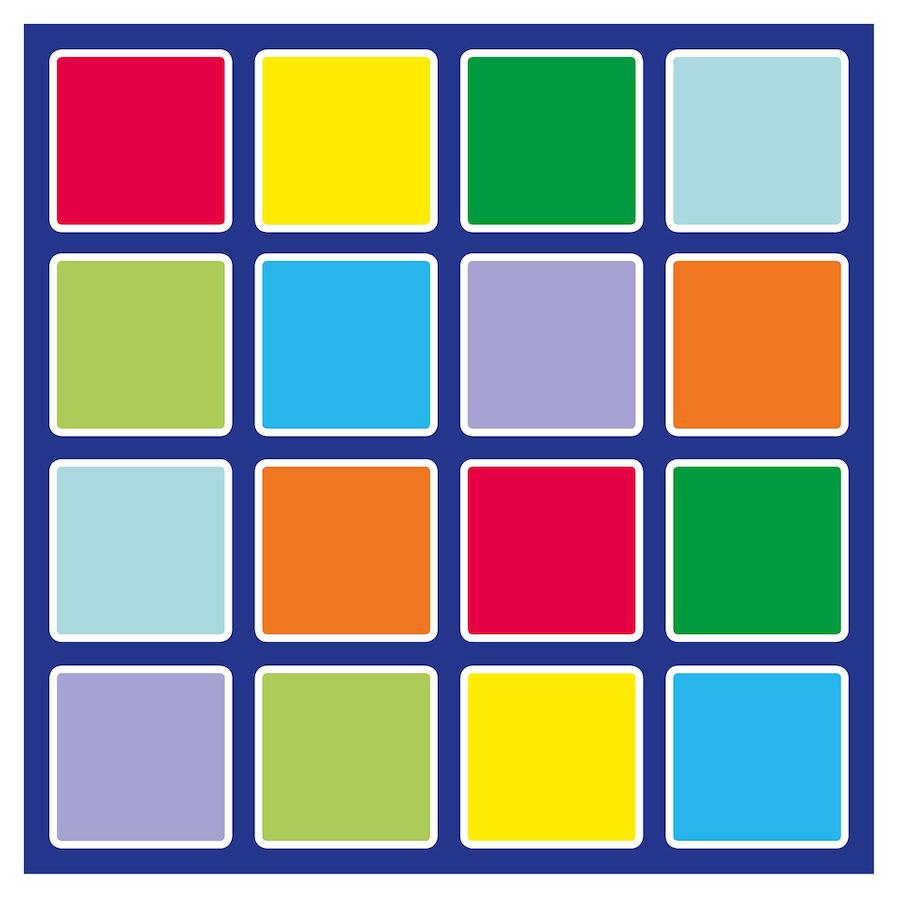 Buy Rainbow Placement Floor Mats Tts