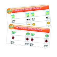 Coat Peg and Drawer Stickers 150pk  medium