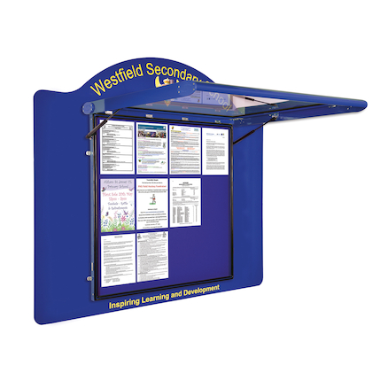 Wallmounted Outdoor Noticeboards  large