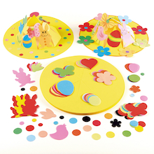 Precut Ready To Decorate Easter Crown Hats 30pk  medium