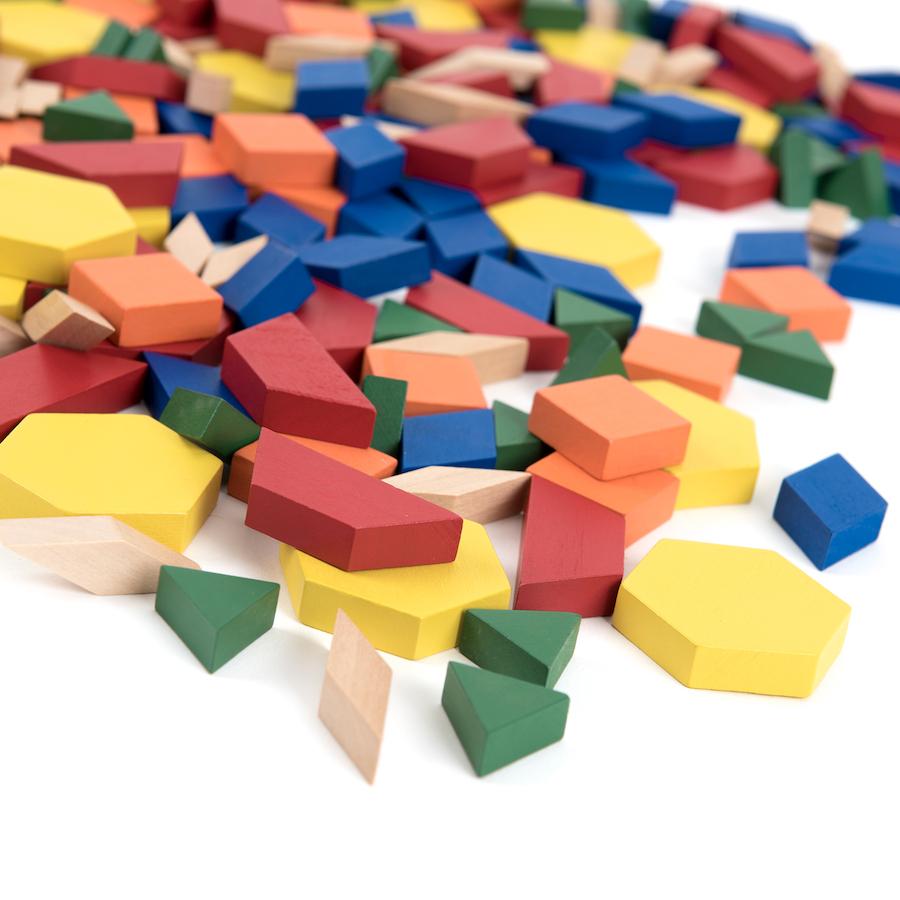 Buy Pattern Blocks Wood Tts