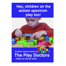 Children on the Autism Spectrum Play Too! Book  medium