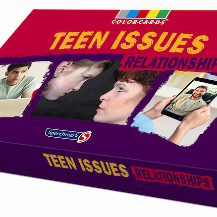 Teen Issues Relationships Discussion Cards 36pk  large