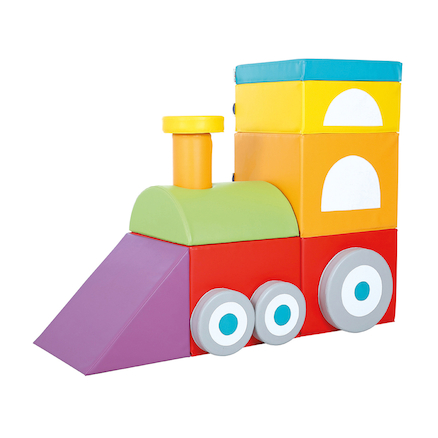 Soft Play Foam Train  large