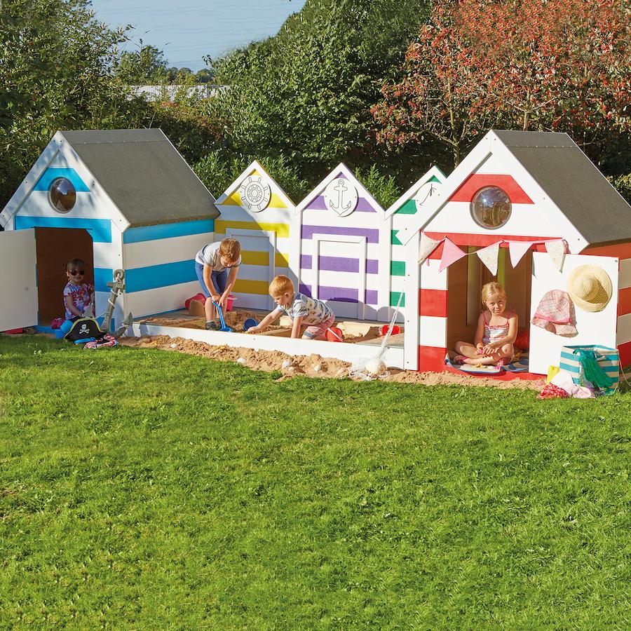 Buy Seaside Village Sandpit And Decking Tts