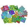 Colourful Felt Counting Tiles 24pcs  small