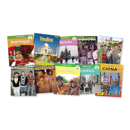 KS1 Exploring Countries Books 10pk  large