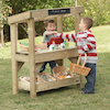 Outdoor Wooden Role Play Shop  small