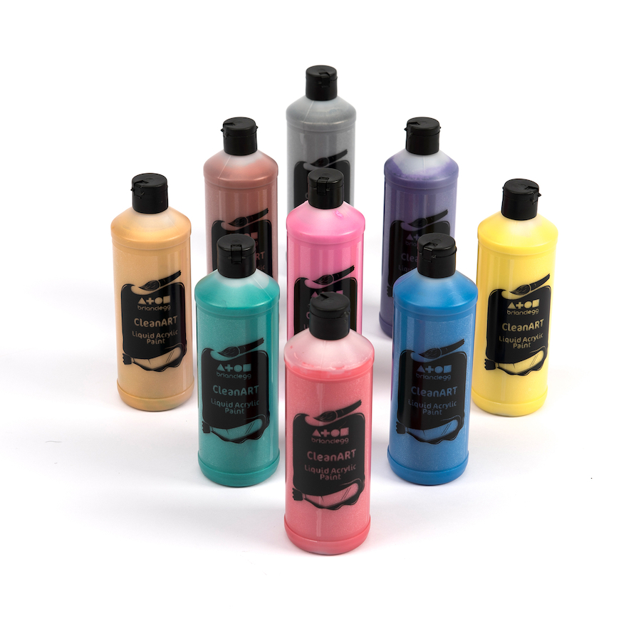 Buy Pearlescent And Metallic Acrylic Paint Tts