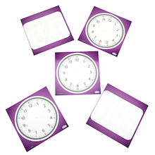 Dry Wipe Time Boards  medium