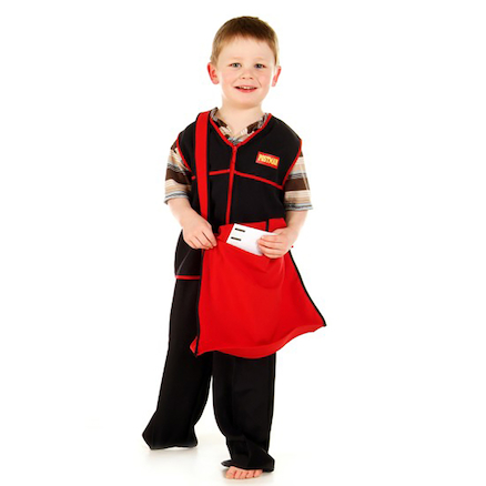 Role Play Dressing Up Postie Outfit  large