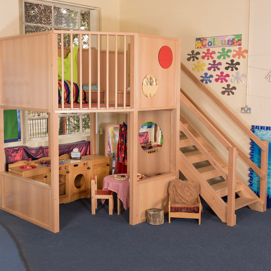 Buy Indoor Two Floor Play Loft H2.4cm | TTS