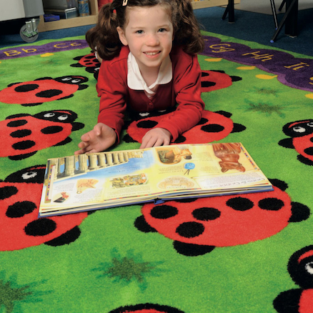 Chloe Caterpillar Literacy and Numeracy Carpet  large