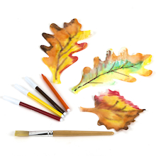 Colour Diffusing Leaves Assorted 160pk  medium