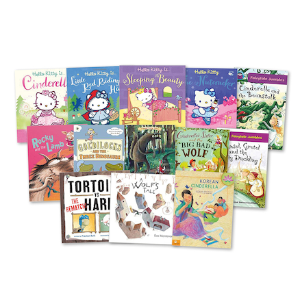 Fairy Tales with a Twist Books KS1  large
