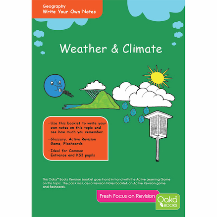 KS3 Weather And Climate Revision Activity Cards  large