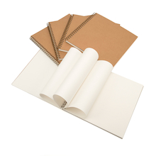 300mm Square Kraft Spiral Sketchbook 140gsm  medium