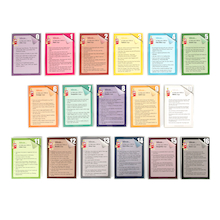 Book Band Reading Target Cards  medium