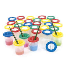 Non Spill Water Pots With Stoppers   medium