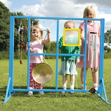 Outdoor Music Stand and Instruments  medium
