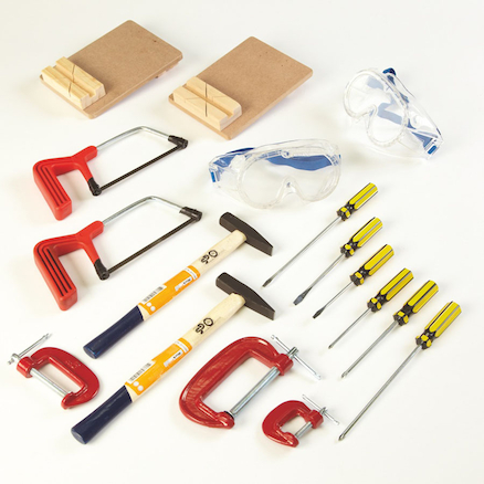 Busy Bench Tool Kit 17pcs  large