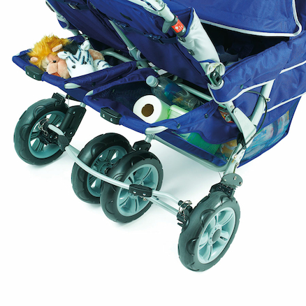 Folding Commercial 4/6 Seater Stroller  large