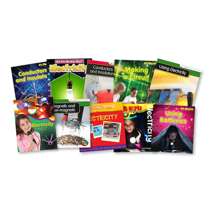 KS1 Using Magnetism and Electricity Books 10pk  large