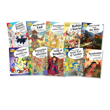 UKS2 Significant People and Events Books 10pk  large