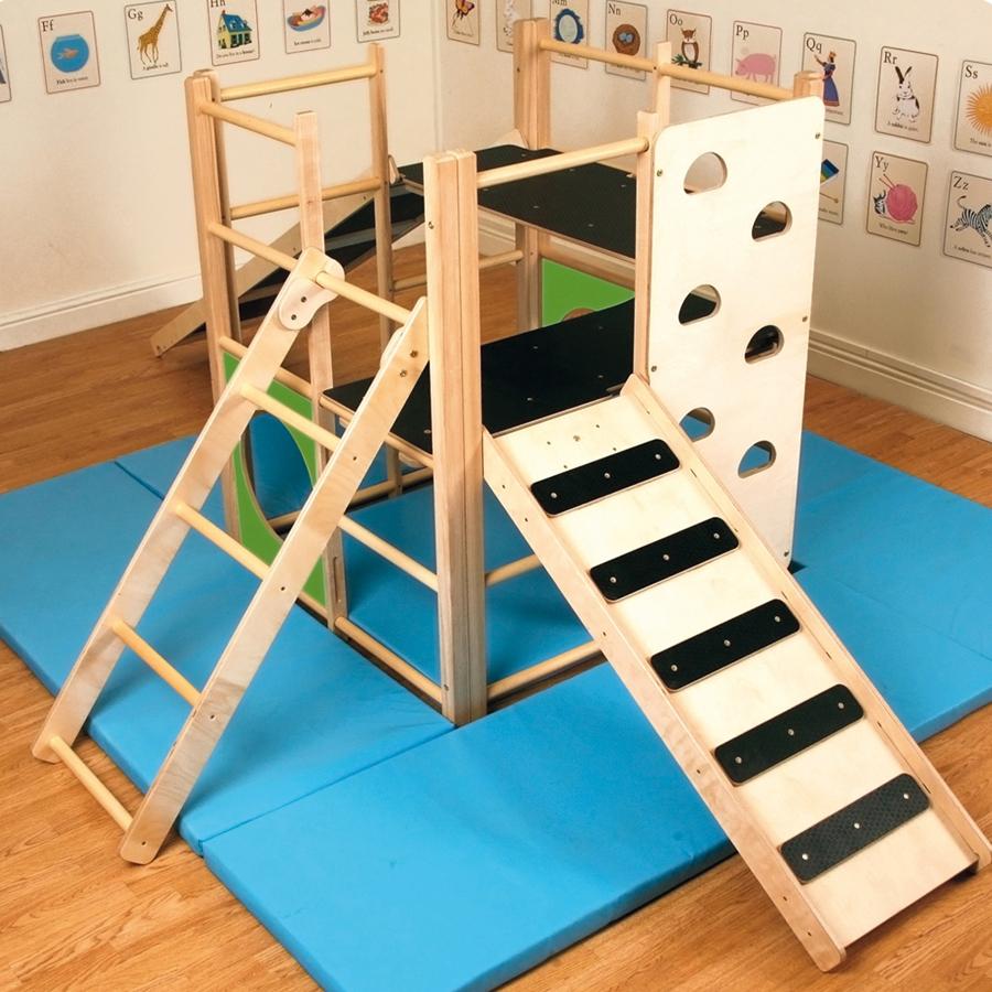 Buy Indoor Wooden Climbing Frame Tts