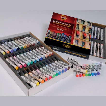 Toison D'or Assorted Colour Pastels  large