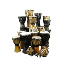 Large Djembe Drums 24 Players  medium