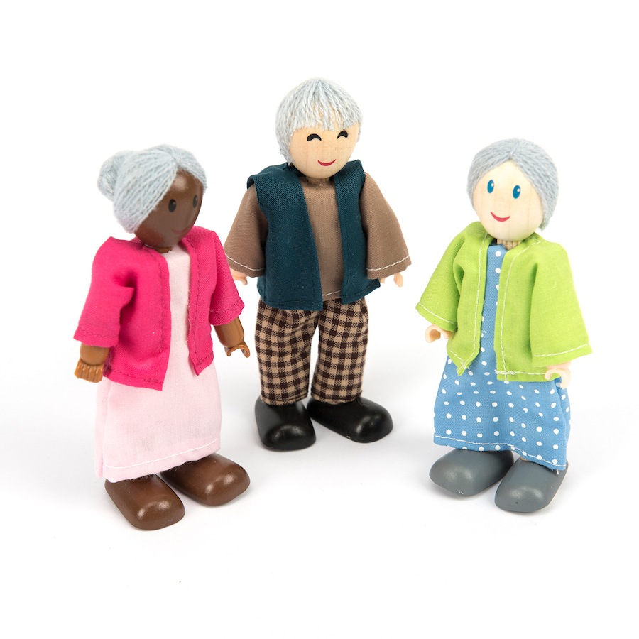 Buy Small World Multicultural Family Figures Doll Set Tts