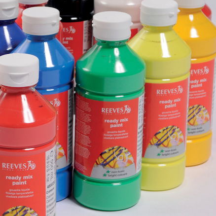 Reeves Ready Mixed Paint Set 500ml  large