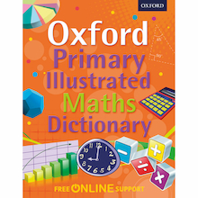 Oxford Primary Illustrated Maths Dictionary  medium