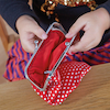 Large Fabric Coin Purse Clutch Bags 4pk  small