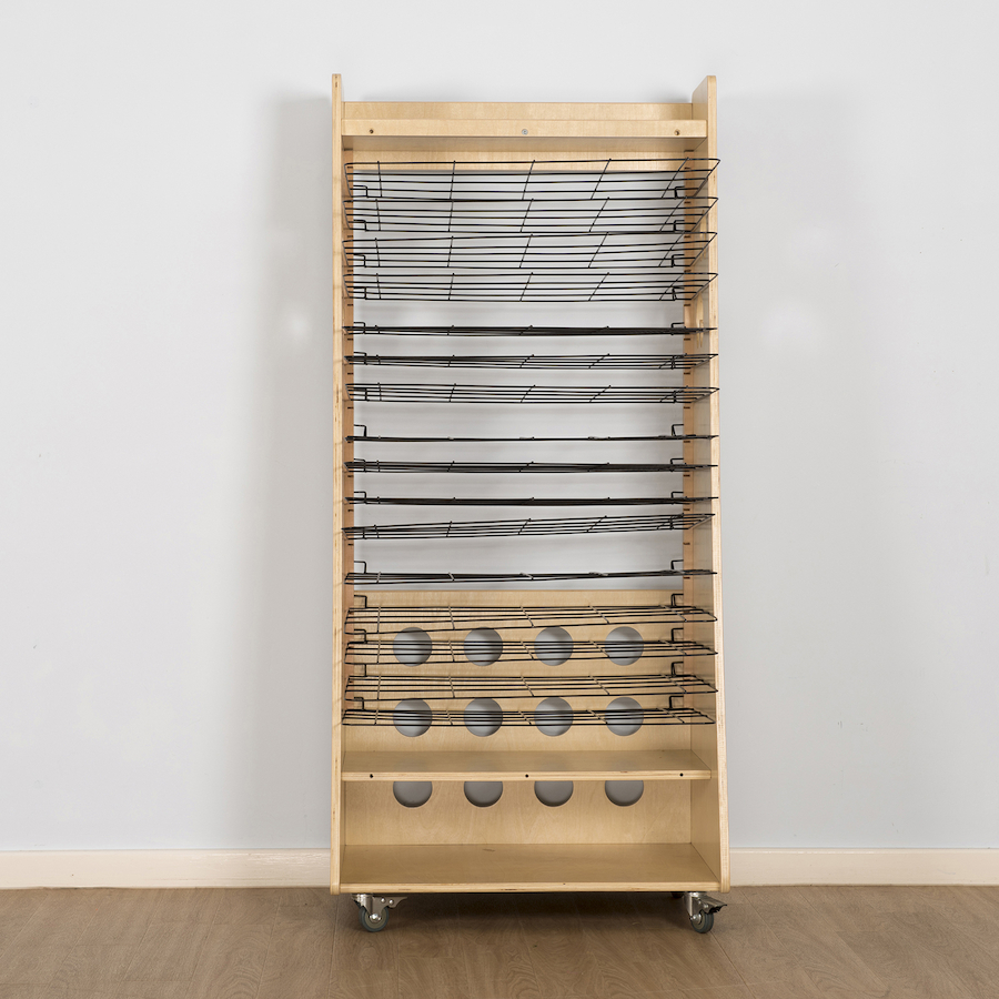 Buy Easy Access Wooden Drying Rack And Art Station Tts