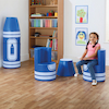 Crayon Seating with Magnetic Link  small