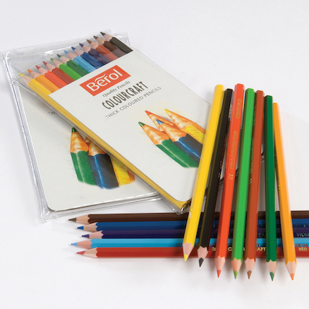 Berol Colourcraft Assorted Colouring Pencils  large