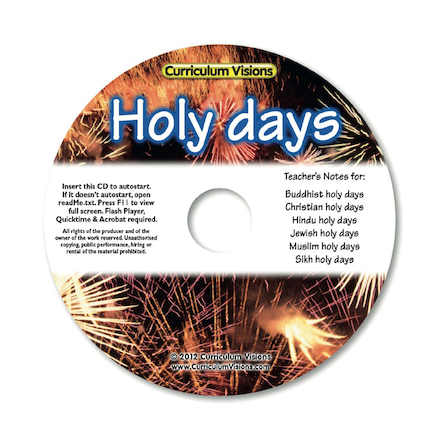 Holy Days Teachers Guide CD  large