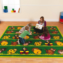 Wild Animal Carpet L300 x W300cm  medium