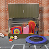 Outdoor Metal Storage Units  small