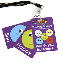 How Do You Feel Today Emotions Keyring  medium